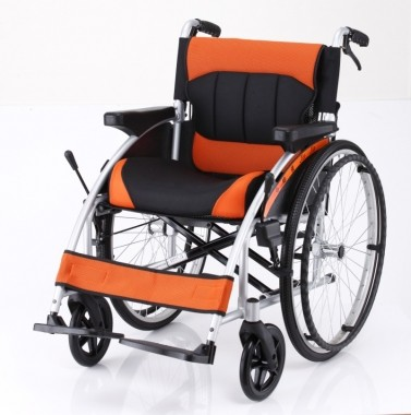 鋁合金輪椅人體工學型