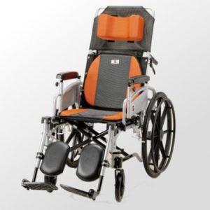 鋁合金輪椅躺臥型