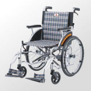 鋁合金掀腳輪椅一般型